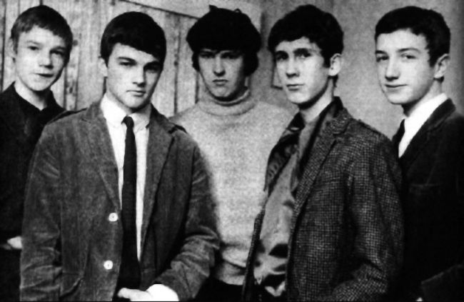 John Deacon (far right) with his first band The Opposition around 1965