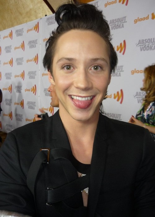 Johnny Weir as seen in April 2010