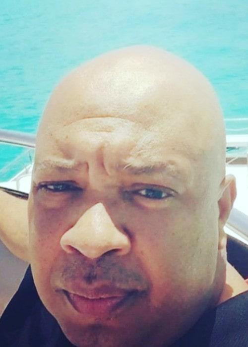 Joseph Simmons in a selfie as seen in September 2019