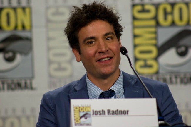 Josh Radnor during an event as seen in July 2013