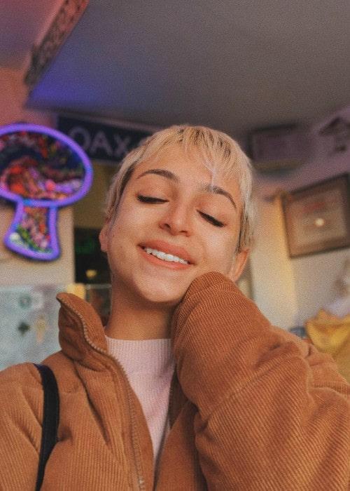 Josie Totah in a selfie as seen in January 2019