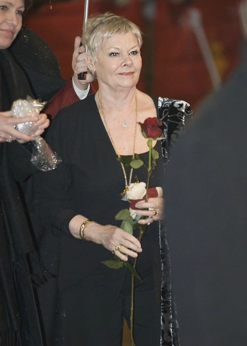 Judi Dench during an event in February 2007