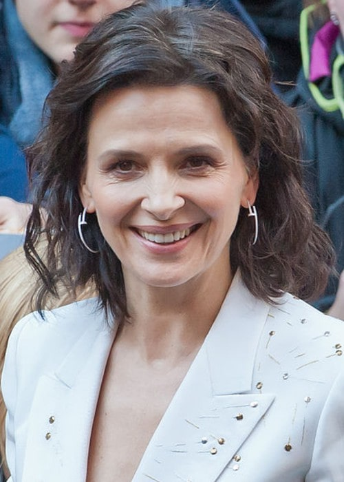 Juliette Binoche as seen in February 2015