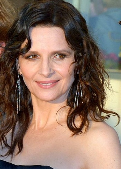 Juliette Binoche as seen in June 2017