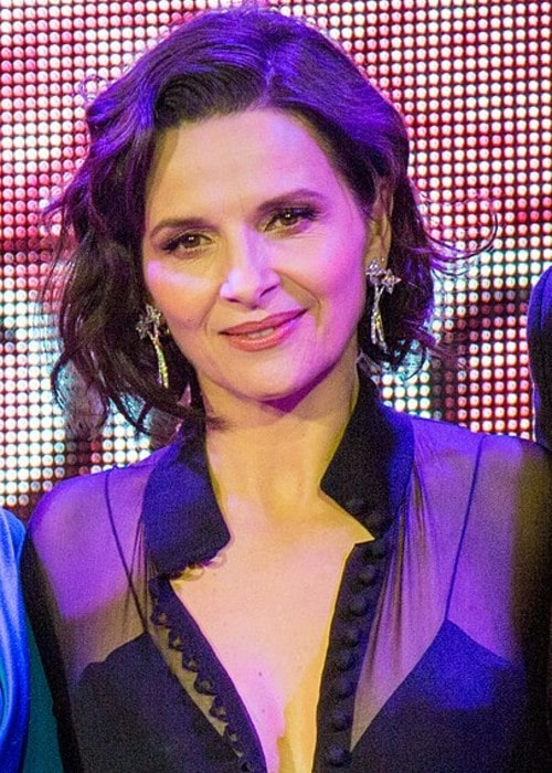 Juliette Binoche as seen in March 2017
