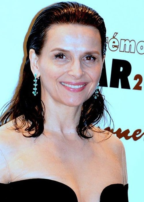 Juliette Binoche as seen in March 2018