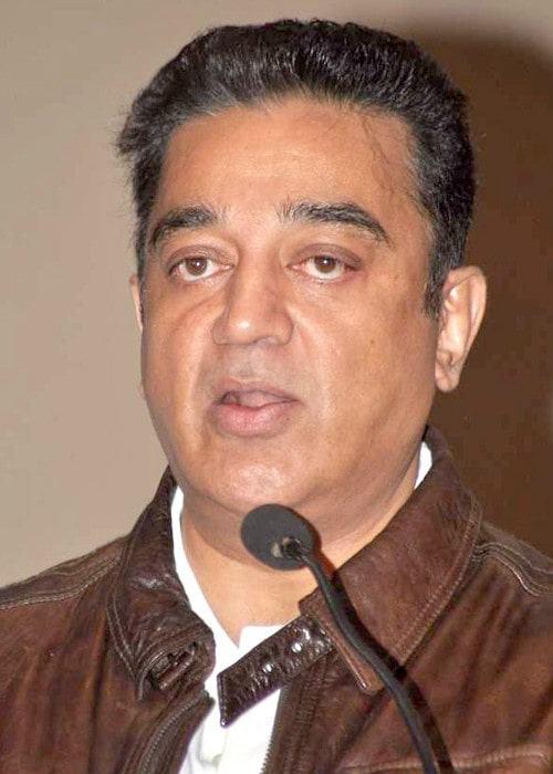 Kamal Haasan during an event in 2013