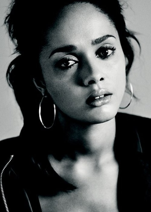Karla as seen in a picture taken for the announcement of her appearance in Linda' at the Royal Court Theatre in November 2015