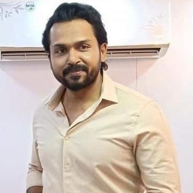 Karthik Sivakumar as seen in September 2019
