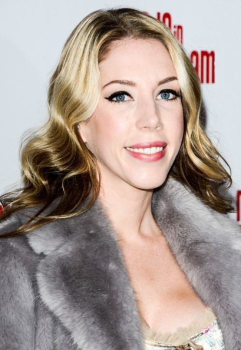 Katherine Ryan seen at the Made In Dagenham press night in London