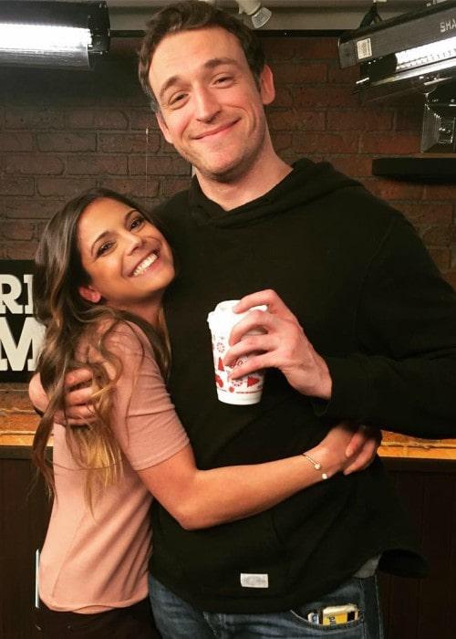 Katie Nolan and Dan Soder as seen in January 2017