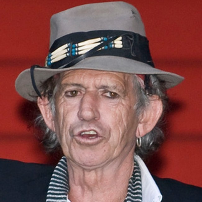 Keith Richards as seen February 2008