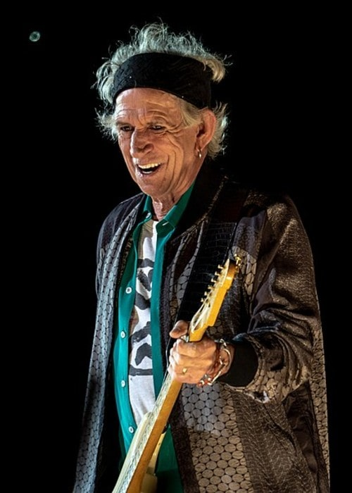 Keith Richards as seen in May 2018