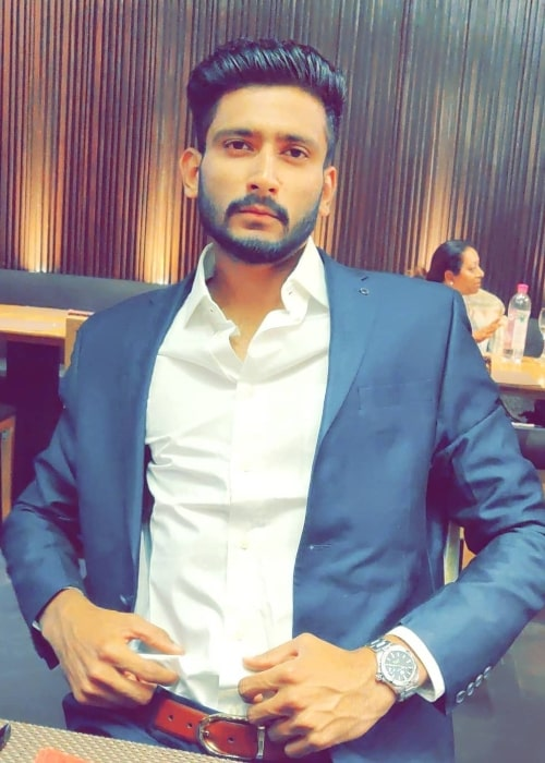 Khaleel Ahmed as seen in a picture taken at Holiday Inn Jaipur City Centre in January 2019