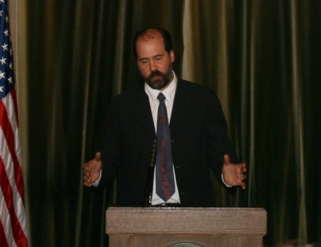 Krist Novoselic as seen in February 2009