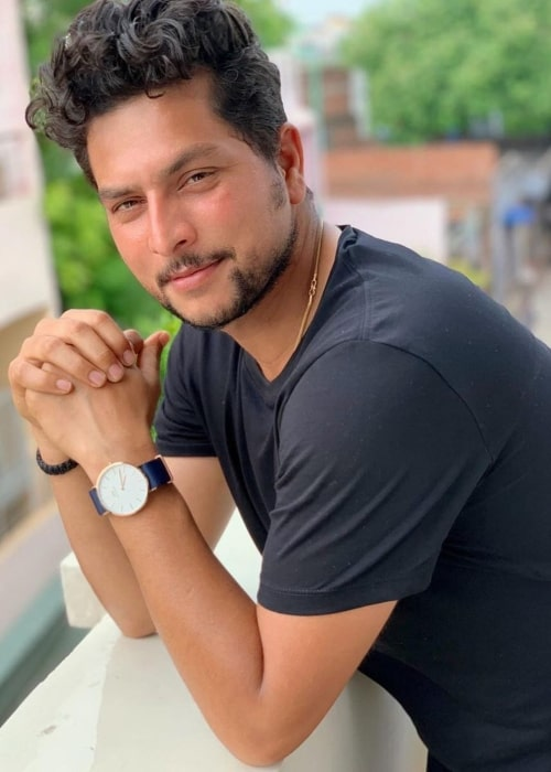 Kuldeep Yadav as seen in a picture taken in August 2019