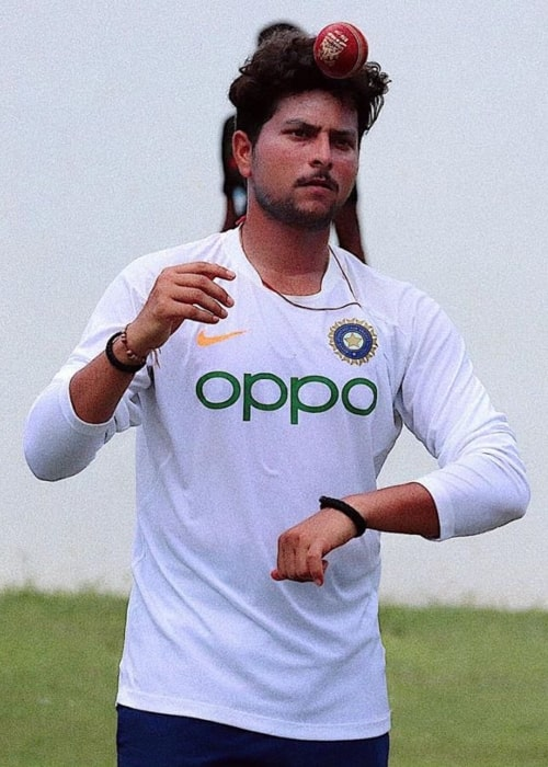 Kuldeep Yadav as seen in a picture taken in September 2019