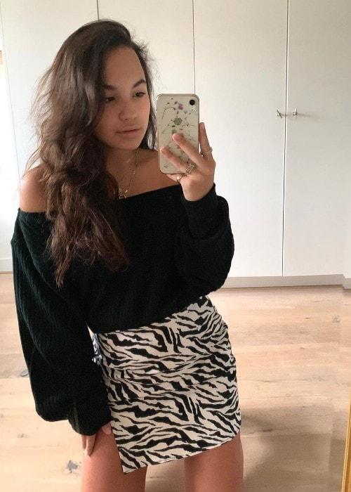 Kyra Smith as seen in September 2019
