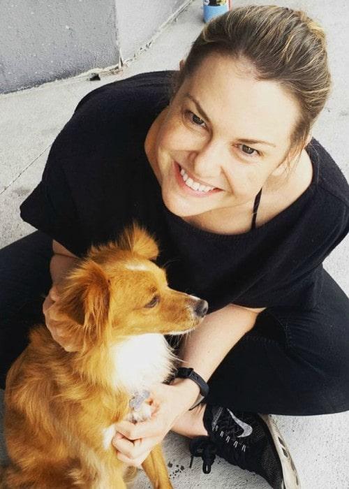 Larisa Oleynik in an Instagram post as seen in February 2020