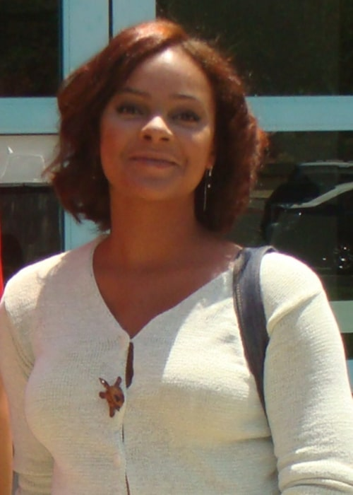 Lark Voorhies as seen in July 2008