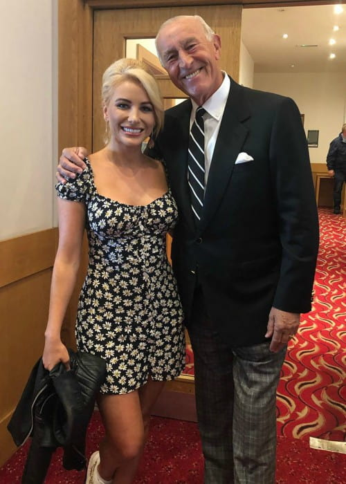 Len Goodman and Cliona Hagan as seen in July 2019