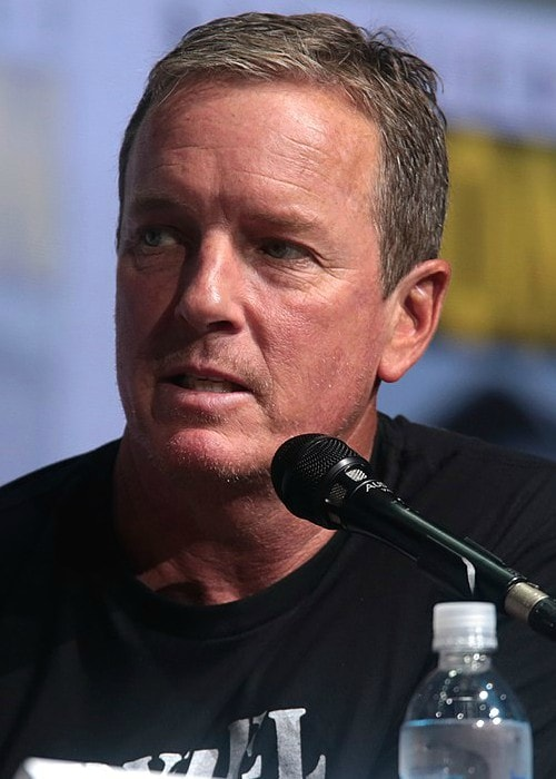 Linden Ashby at the 2017 San Diego Comic-Con International