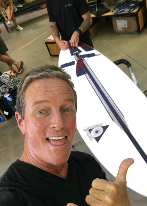 Linden Ashby in a selfie in August 2018