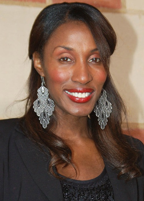 Lisa Leslie at a performance of The Hot Chocolate Nutcracker in December 2010
