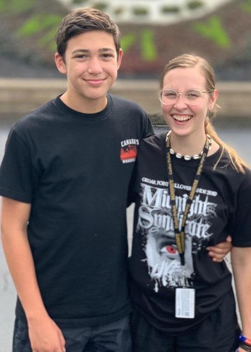 Logan Joiner and Sophia as seen in September 2019