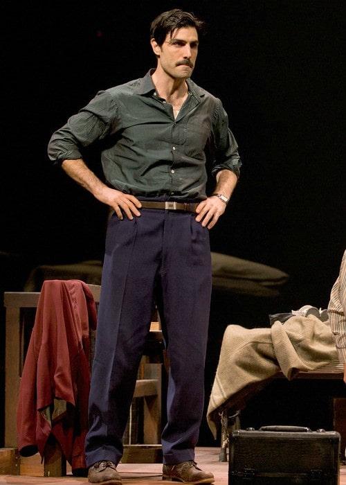 Louis Cancelmi at the BU Theatre in November 2011