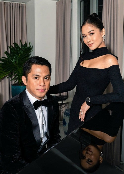 Maja Salvador and Rambo Nuñez as seen in November 2019