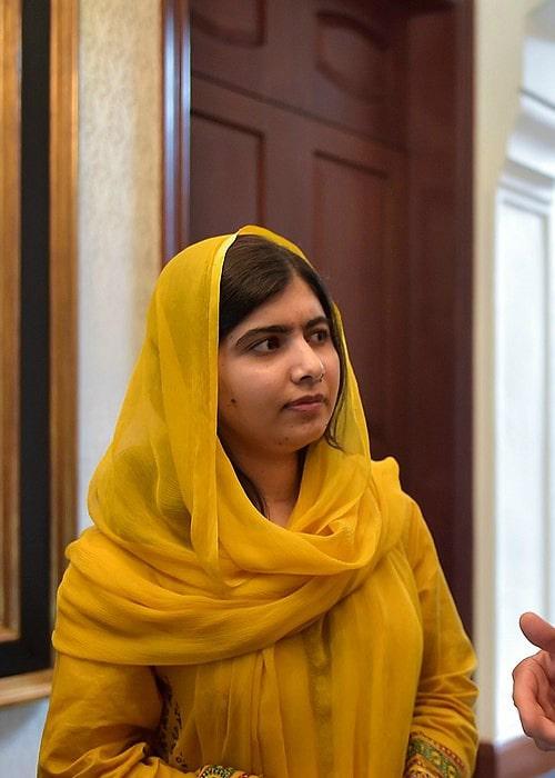 Malala Yousafzai as seen in September 2017