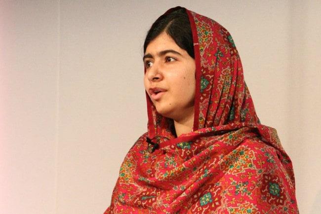 Malala Yousafzai at Girl Summit in July 2014