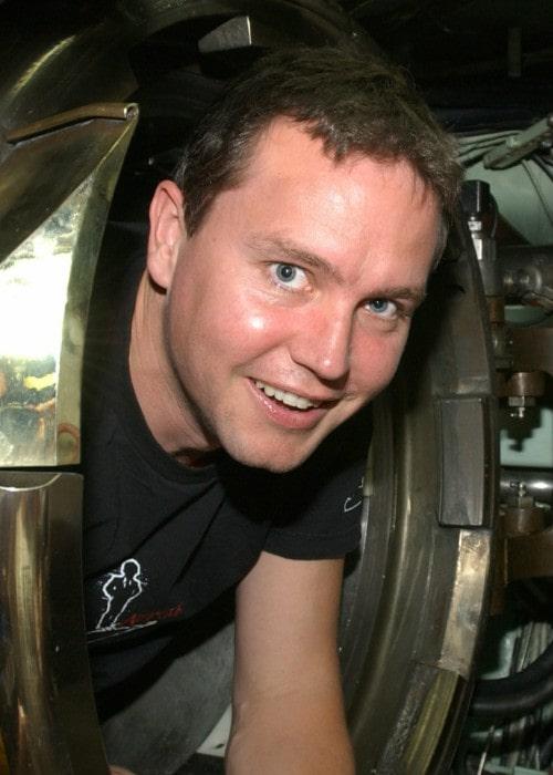 Mark Hoppus as seen in August 2003