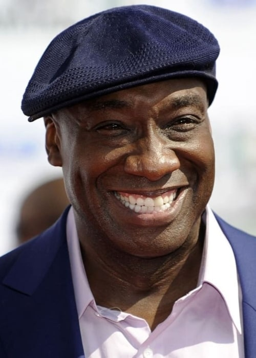 Michael Clarke Duncan as seen in a picture that was taken in the past.