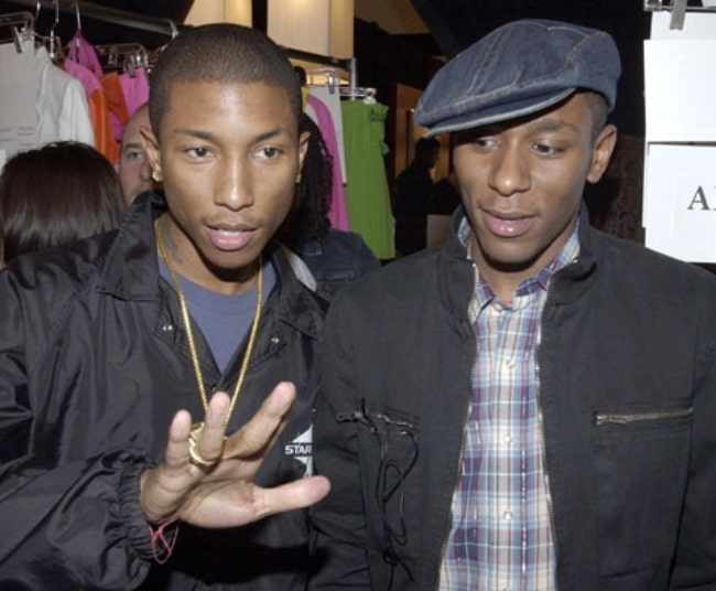 Mos Def (Right) as seen in a picture alongside Pharrell Williams in January 2016