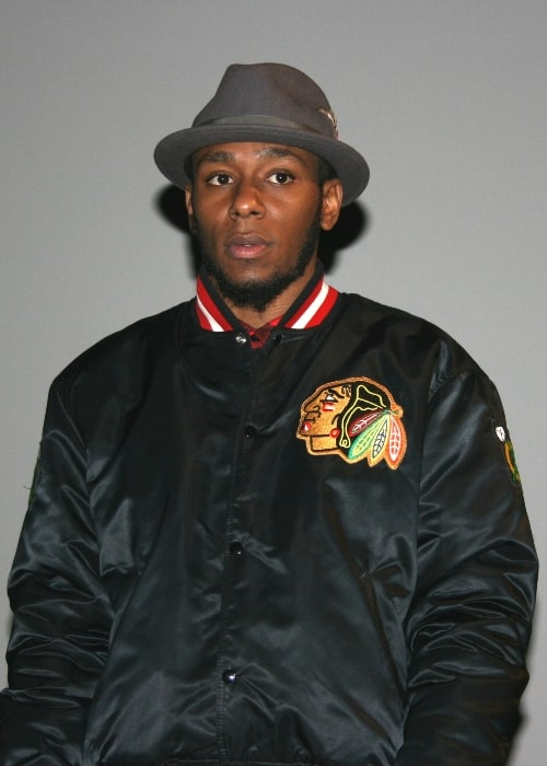 Mos Def as seen during an event at UGC Ciné Cité Les Halles in Paris, France in March 2008