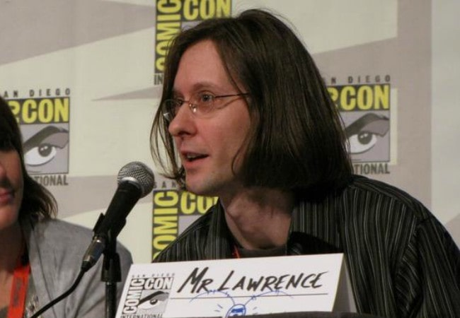 Mr. Lawrence at the 2009 San Diego Comic-Con