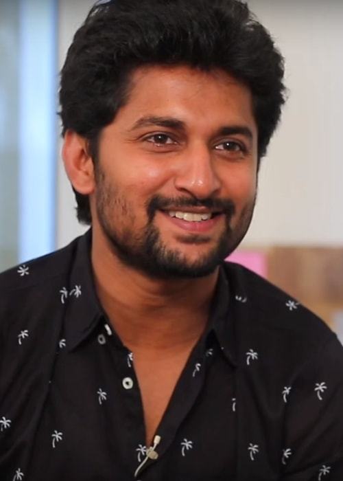 Nani as seen in a picture taken during an interview for his film Companion on December 22, 2017