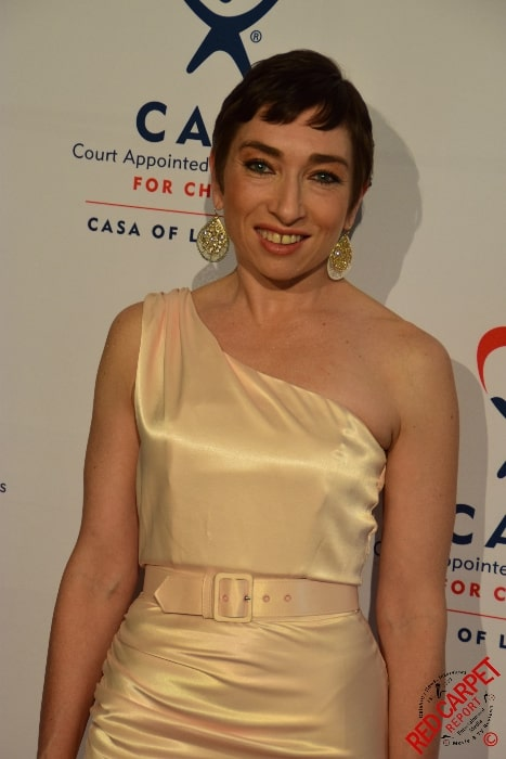 Naomi Grossman as seen while posing for a picture at CASA of Los Angeles' 3rd Annual Evening to Foster Dreams Gala on May 12, 2015