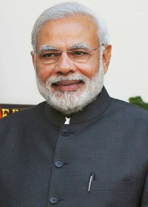 Narendra Modi during the state visit of the President of the Republic of Singapore to India in 2015