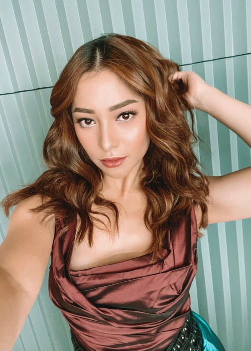 Nikita Willy in a selfie as seen in November 2019