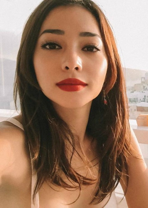 Nikita Willy in an Instagram selfie as seen in July 2019