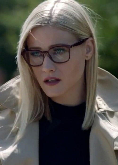 Olivia Taylor Dudley as seen in 2019