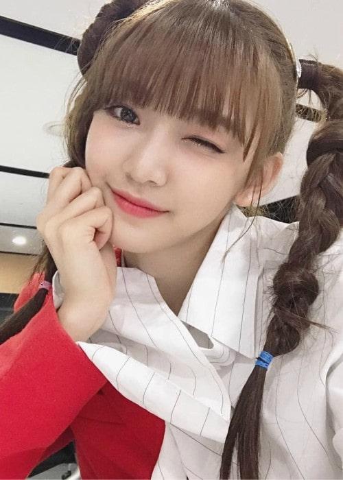 Onda in a selfie as seen in April 2019