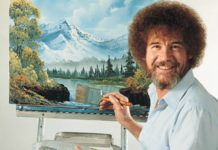 Painter Bob Ross