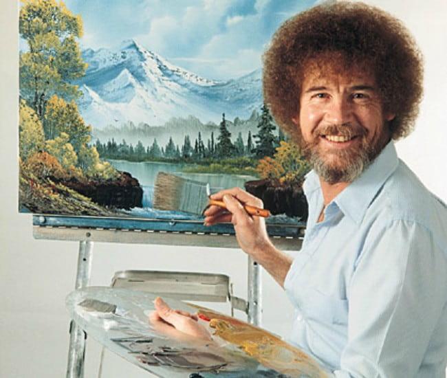 Painter Bob Ross