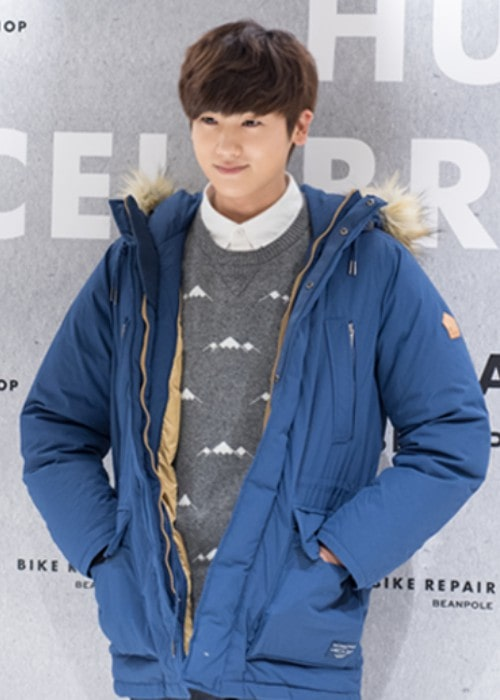 Park Hyung-sik during an event in December 2014