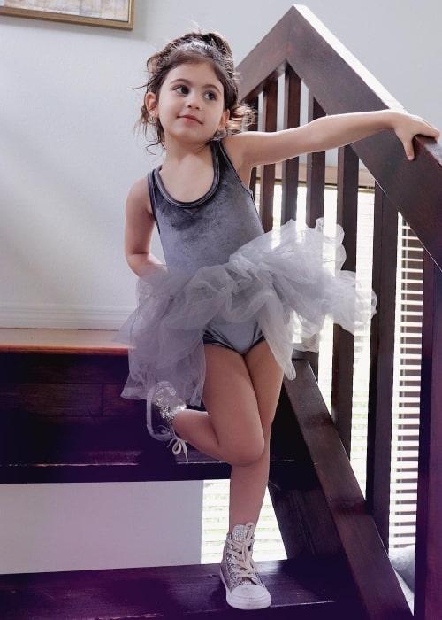Penelope Juliette as seen in March 2019