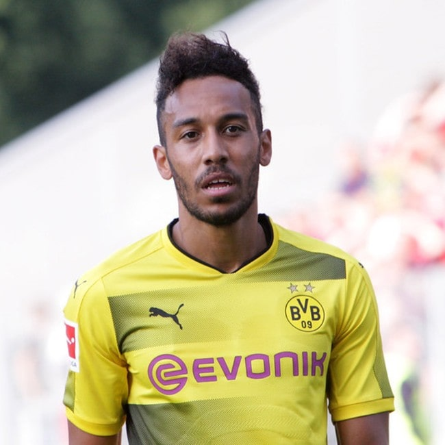 Pierre-Emerick Aubameyang as seen in July 2017